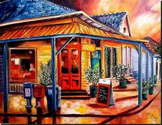 Colorful Marigny by Diane Millsap