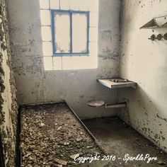 Abandoned Photography - Jail Cell - 5 x 5 Matte Print - Abandoned Prison, Abandoned Jail