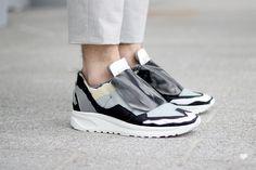 Maison Margiela - Deconstructed Sneakers Black - Поиск в Google