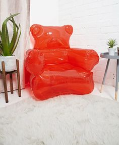 An inflatable gummy bear chair that'll make you feel like you're living in a sugary dreamworld. 29 Cool And Random Things You Can Probably Afford
