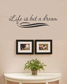 Life is but a dream Vinyl Wall Art Decal Sticker *** Visit the image link more details.