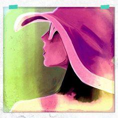 Oh Jeeves - abstract portrait series Eva Alessandria
