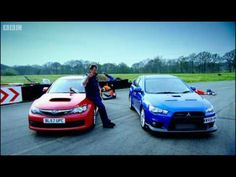 Jeremy Clarkson takes us through the new versions of the Mitsubishi Evo and the Subaru Impreza.  Both are complicated, both Japanese, both reach 155mph, so how to separate them?