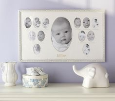 Suzanne First Year Frame | Pottery Barn Kids