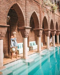 Not just your average backyard pool💫💫 Places To Travel, Travel Destinations, Places To Visit, Morocco Travel, Best Cities, Travel Goals, Wanderlust Travel, Adventure Travel, Travel Photos