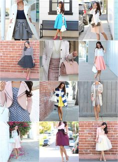 Annie of Stylish Petite is a source for inspiration that covers everything from fashion, motherhood, beauty and cooking. She also helps petite women find clothes that fit. Work Fashion, Fashion Outfits, Womens Fashion, Fashion 2014, Petite Fashion, Dress Fashion, Dressy Outfits, Cute Outfits, Stylish Petite