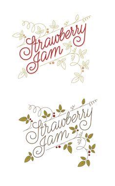 pinterest.com/fra411 #typography #lettering Lettering by Solvita Marriott