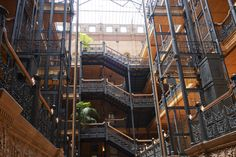 Bradbury Building, George Wyman, Los Angeles, California, 1893 — Julius Shulman