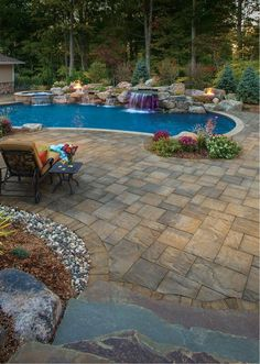 Take advantage of the season and start planning for future pool parties and outdoor fun. Cambridge Pavingstones with ArmorTec can help you transform your backyard for the summer.