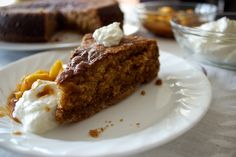 Armenian Nutmeg Cake was the first of this month's Daring Bakers recipes. It's very tasty, very moist, sweeter than would be expected (but not too sweet), and easy to make. However, I d…