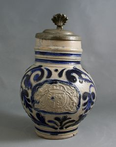 Westerwald jug with British coat of arms, circa 1720