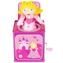 FAO Schwarz Princess Jack In the Box by Schylling. $27.67. Recommended Age: 18 months and up. Pop goes the princess! The FAO Schwarz Princess Jack-in-the-Box offers a girly twist on a classic toy. A pretty princess is housed in a pink metal box, just waiting for your little girl to turn the handle. When she does, she'll hear music and see FAO's iconic royal emerge. The FAO Schwarz Jack-in-the-Box - Princess features: Turn the handle to hear music and watch the Prince...