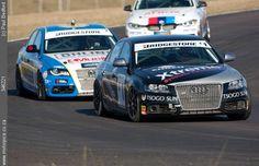 Audi Motorsport Blog: Audi S4 quattros deliver fast-paced racing action