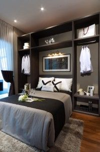 small space master bedroom wow I love this