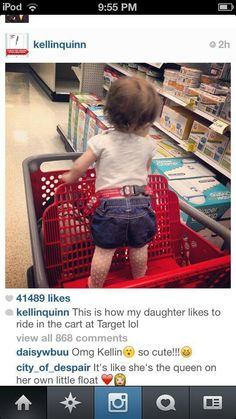 """""""It's like she's the queen on her own little float.""""  So adorable!  Kellin Quinn from Sleeping With Sirens"""