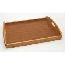 Serving Platters/ Bowls/Trays: Bamboo Tray - veneer bottom