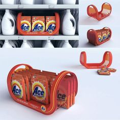 Nice way to separate from competition Pos Display, Regal Display, Counter Display, Display Design, Display Shelves, Booth Design, Banner Design, Pos Design, Design Tape