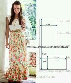 Maxi from Moldes moda