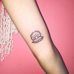Small Shell Tattoo (22)