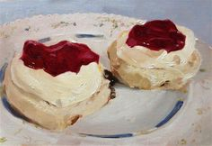 """Scones"" - Original Fine Art for Sale - © James Coates"