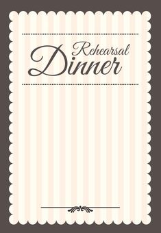 Elegant setting free printable rehearsal dinner party invitation stamped rehearsal dinner free printable rehearsal dinner party invitation template greetings island stopboris Image collections