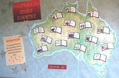 Australia! Story Country. Book Week 2016 Indigenous Education, Language And Literature, Books 2016, Book Week, Library Displays, Book Reviews, Book Activities, Childcare, Display Ideas