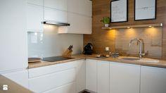 lacobel na ścianie w kuchni - Szukaj w Google