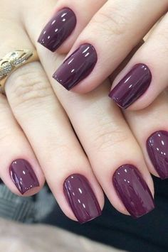 30 ideas which nail polish to choose - My Nails Acrylic Nail Designs, Nail Art Designs, Acrylic Nails, Mauve Nails, Gold Nails, Nail Color Trends, Nail Colors, Gel Nail Art, Nail Polish