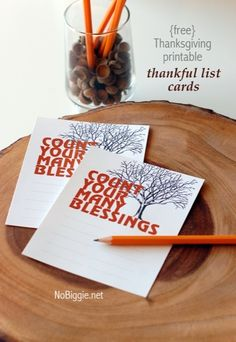 Count your many blessings Thanksgiving shadowbox with free printable 1 - NoBiggie.net
