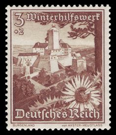 DR 1938 - Winterhilfswerk Burgenland - stamps of Germany with charity surcharge for the Winterhilfswerk