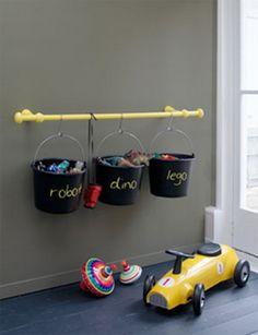 Ideas para organizar juguetes en habitaciones infantiles 4