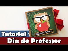 Lembrancinha Dia dos Professores | DIY | Tutorial | PAP | Cartão com chocolate - YouTube