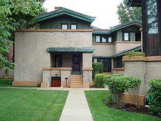 Dana-Thomas House / 301 East Lawrence Avenue, Springfield, IL / 1902-1904 / Prairie / Frank Lloyd Wright