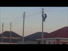 Происшествие в микрорайоне Самал на высоковольтных проводах - Актау и Мангистау - информационно полезный ресурс о западном Казахстане