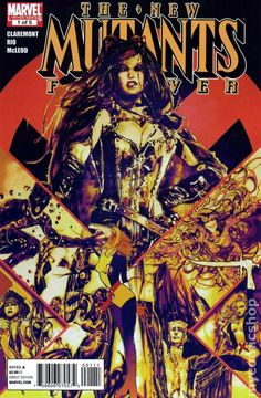 New Mutants Forever (2010) 1A Marvel Comics Modern Age Bronze Copper Age Comic book covers Super Heroes VilliansX-men Mutants