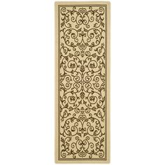 @Overstock - Perfect for any backyard, patio, deck or along the pool, this rug is great for outdoor use as well as any indoor use that requires an easy to maintain rug.http://www.overstock.com/Home-Garden/Safavieh-Natural-Brown-Indoor-Outdoor-Rug-22-x-12/7358644/product.html?CID=214117 $67.99