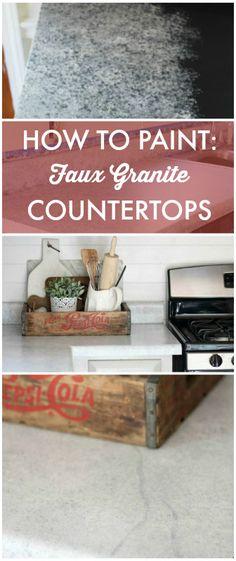 Giani Countertop Paint Youtube : Giani? Granite Countertop Paint on Pinterest Countertop paint ...