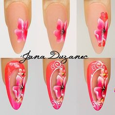 sbs with gel Jana nails #nailpro #art #pinknails #nails #janaduzanec #jananails…