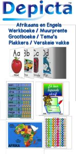 Depicta: Educational products and resources for learners and teachers Teaching Posters, Teaching Aids, Teaching Resources, Teachers Pet, Handwriting Practice, Afrikaans, Kids Education, Pre School, Kids Playing