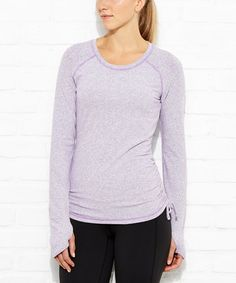 Another great find on #zulily! Purple Orchid Dashing Stripes Tee #zulilyfinds