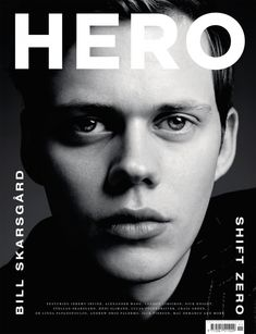 Bill Skarsgard by Hedi Slimane for Hero S/S 2014