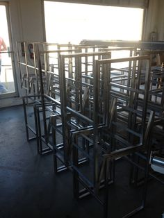 Custom designed stools for the #WholeFoods in Oxnard, CA. www.trueemporium.com