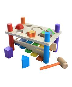 Very nice.  Quality stuff. Take a look at this Xylophone Pounding Bench by Maxim on #zulily.