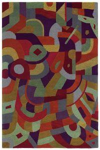 Kaleen Moods 9506 Tangerine area rug