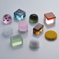 Japanese jewel sweets.