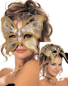 Golden Butterfly Mask