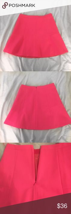 BRAND NEW!! J. Crew pink skirt This skirt is so cute and it's brand new with tags!! It has a small stain on the bottom (I'm not sure how it got there) 😕 it's not that noticeable though. ASK QUESTIONS!!😊😊 J. Crew Skirts Mini