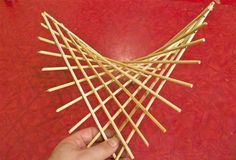 How to Make a Hyperbolic Paraboloid Using Skewers