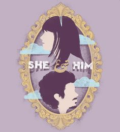 She and Him. This is happy light calming music (and not much relaxes me).