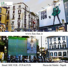 Brand: She.ver e Fun & Fun #shever #funefun #fun&fun #funfun #abbigliamento #napoli #italia #piazzadeimartiri #adv #advertising #upgrade   #upgrademedia
